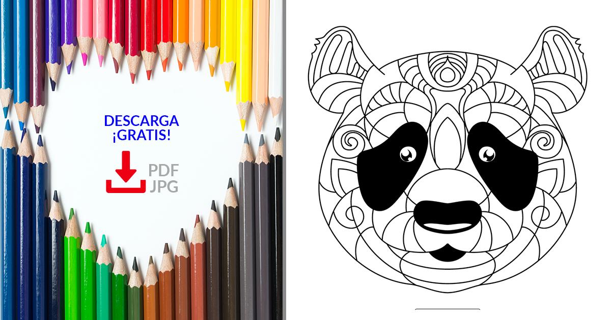Mandalas De Animales Para Imprimir Gratis En Pdf Y Jpg